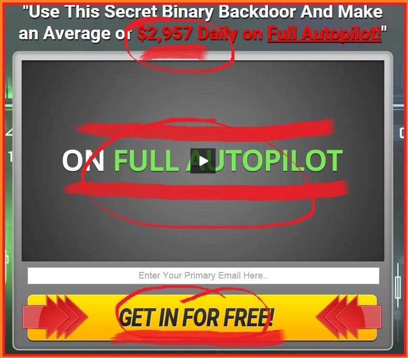 Binary Backdoor Screenshot