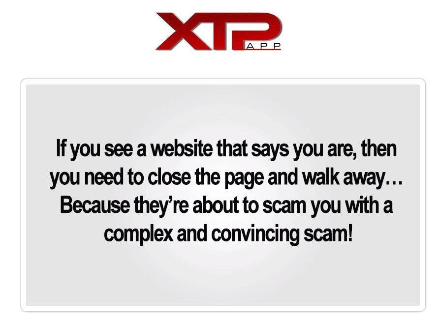 XTP App Scam Warning!