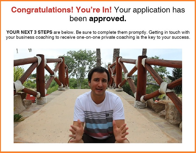 Being accepted into the MTTB system!