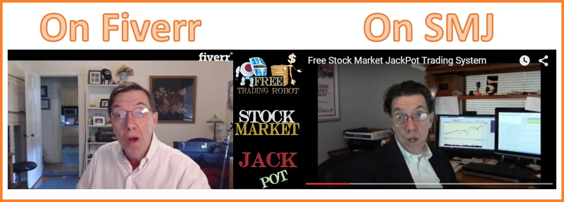 Banjo Man 15 appearing on Fiverr and Stock Market Jackpot.