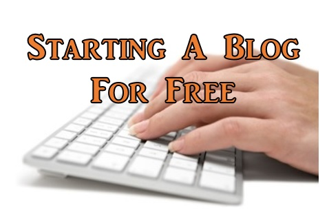 How to start a blog for free and how to make money blogging for free.