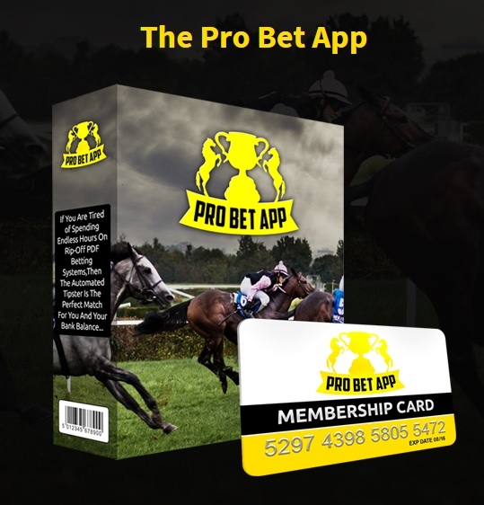 The Pro Bet App software