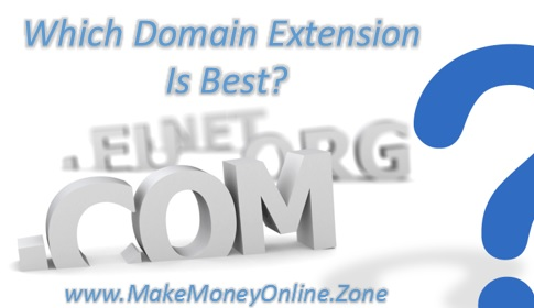 Which domain extension should I choose for my Blog, Site Or SEO?