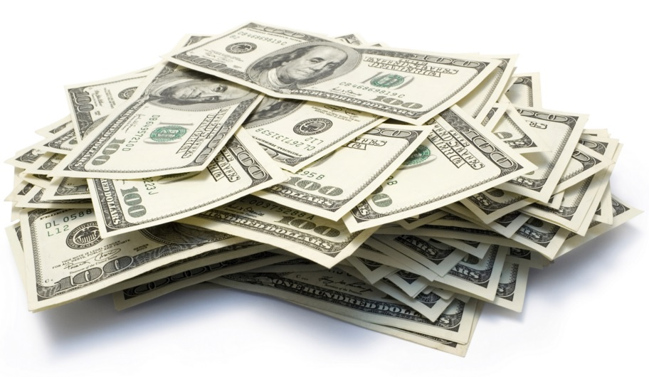 A big pile of money. Want to learn how to many money from home?