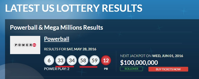 Us Lottery Results