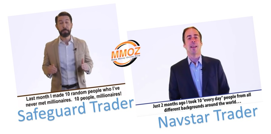 Safeguard Trader versus Navstar Trader comparison showing the similarities between the two systems.