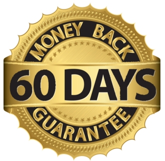 60 Day money back guarantee.