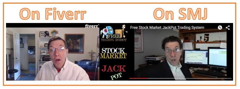 Banjo Man on Fiverr and then appearing on Stock Market Jackpot.
