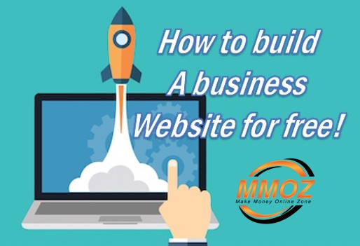 How to build a business website for free.