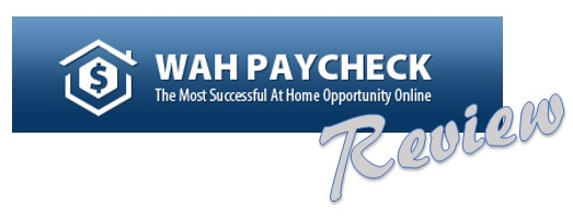 WAH Paycheck Scam.