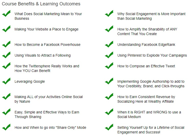 Wealthy Affiliate training course - level 4