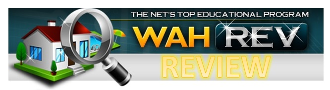 WAH REV Scam - Welcome to The WAHREV Review.