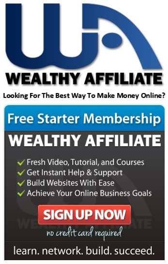 Get started with a free membership from Wealthy Affiliate.