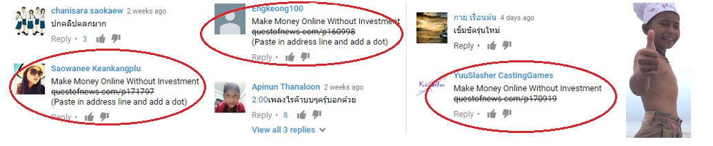 The Quest Of News Scam on YouTube.