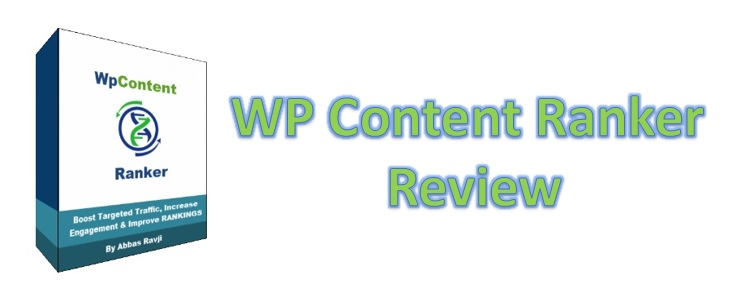WP Content Ranker Review.
