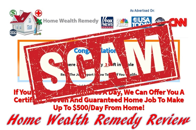 Home Wealth Remedy Review. Is the Home Wealth Remedy a scam?