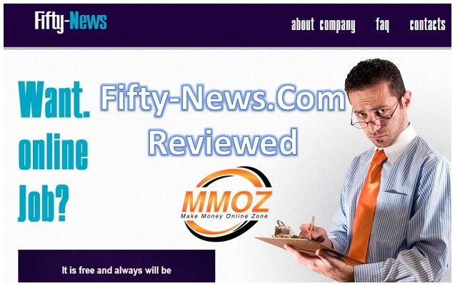 Fifty News Reviews, what is Fifty News? Is fifty-news.com a scam?