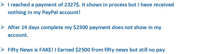 Fifty News Reviews - Proof that Fifty-News.com is a total scam.