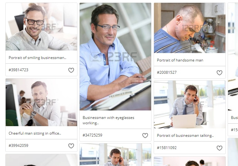 1k Daily Profit creator John Becker seen in stock photos.