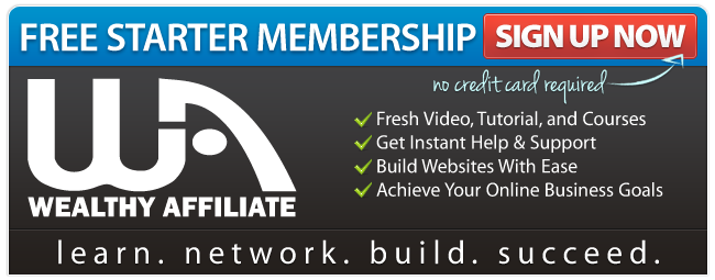 Join the Wealthy Affiliate free membership.