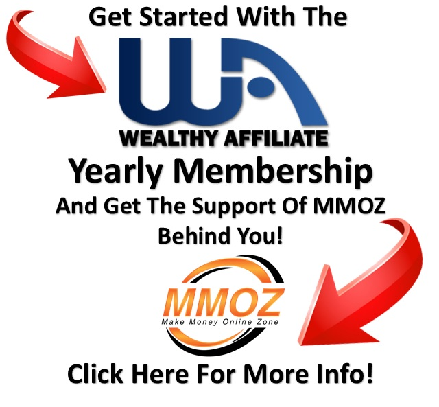 Get more information about the Wealthy Affiliate yearly membership.