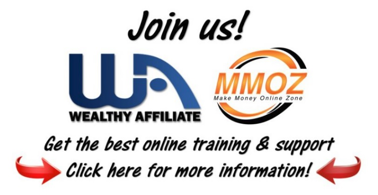 Join Wealthy Affiliate and the make money online zone.