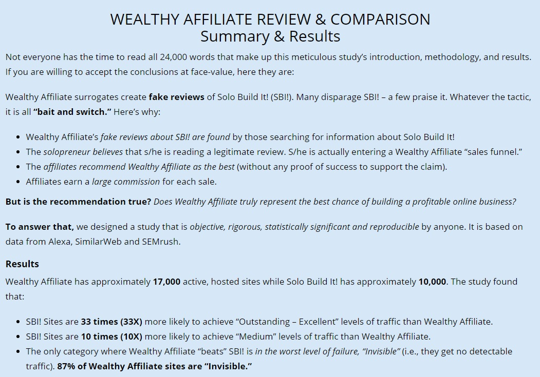 Ken Envoy's Wealthy Affiliate Review.