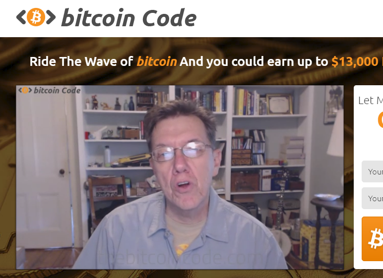Banjo Man makes an appearance on the Bitcoin Code.