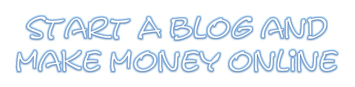 Start a blog business for free and make money online.