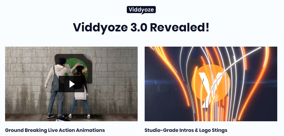 Viddyoze 3.0 Demo Video.