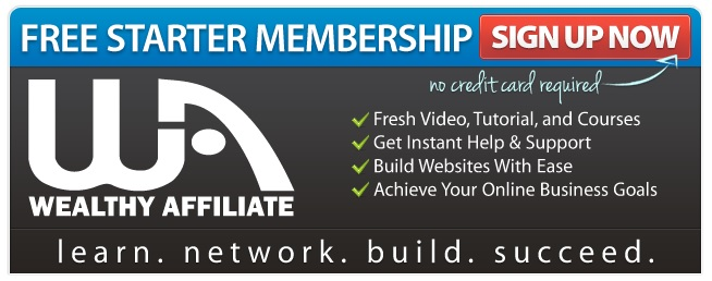 Join Wealthy Affiliate. Get started by clicking here.