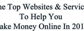 Best ways to make money online 2018.