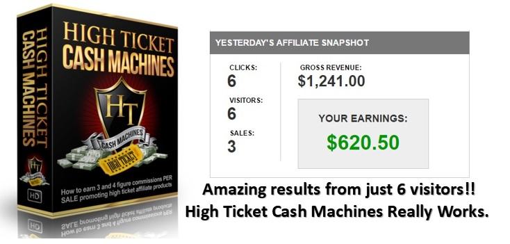 High Ticket Cash Machines, another of the best ways to make money online in 2018.