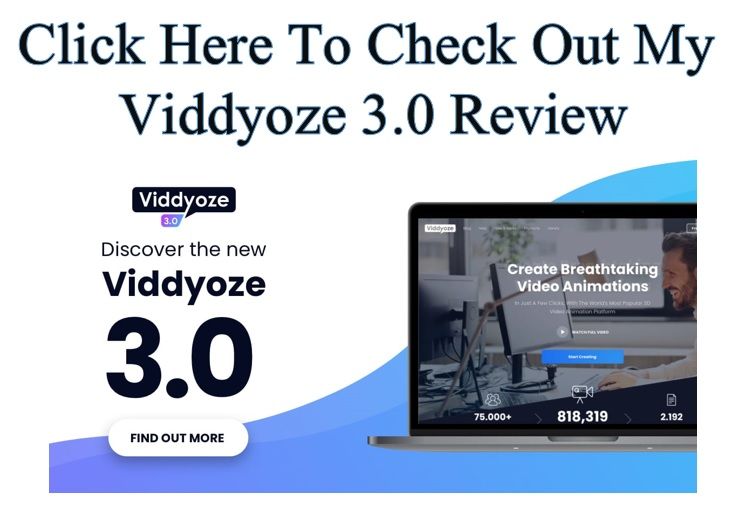 Make money online creating video with Viddyoze 3.0 - Click here to see my Viddyoze 3.0 review.