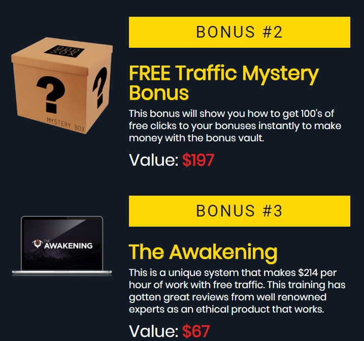 Bonus Vault Bonus - Even more free stuff.