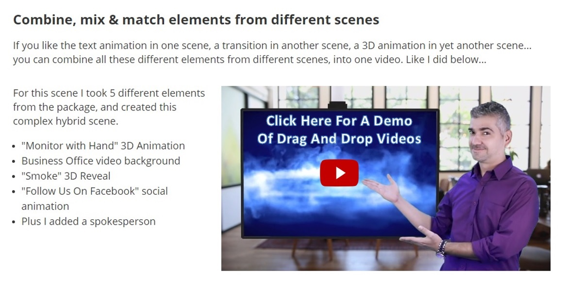 Click here for a Drag and Drop Videos demo.