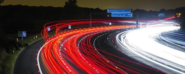 This image shows lots of speeding traffic going past. Is this the best way to Make Money With Internet Traffic?