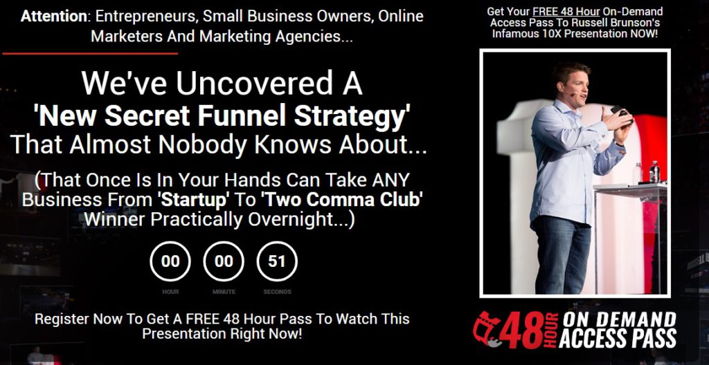 The Secret Funnel Strategy.